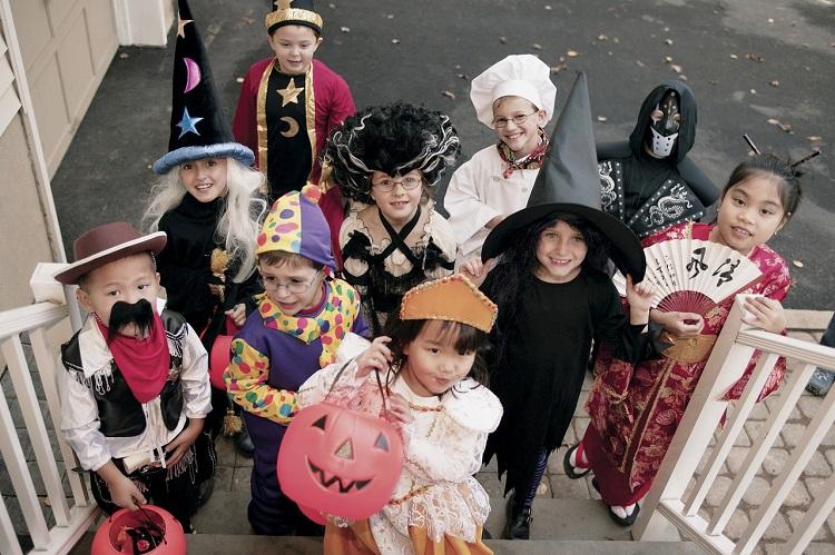 Disfraces fáciles DIY para niños en Halloween Querolets