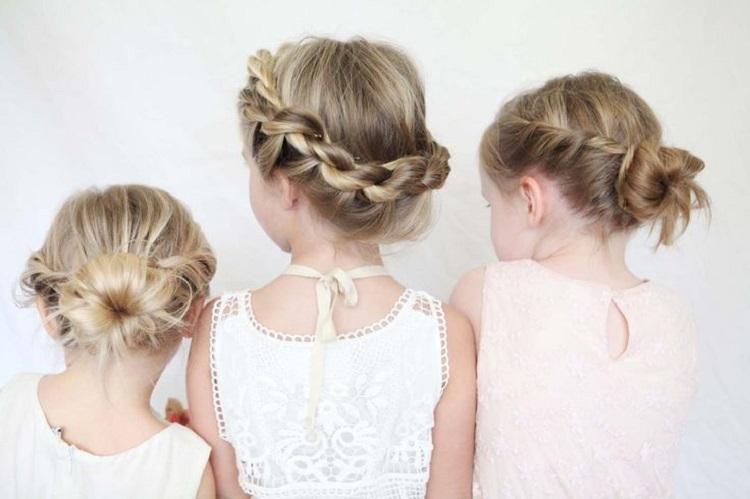 Un peinado sencillo para niñas Querolets 3
